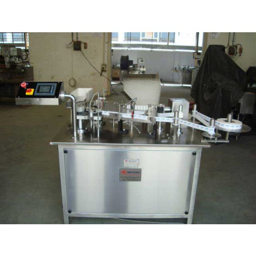 Ampoule Sticker Labeling Machine - Ampoule labellers