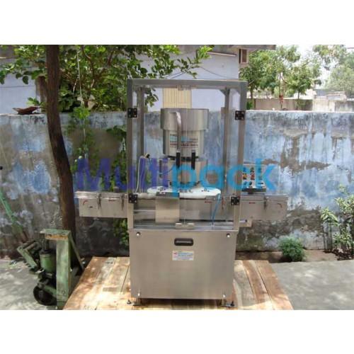 Four Head Aluminium Vial Cap Sealing Machine - PP / Flip-off  Vail Cap Sealing machine