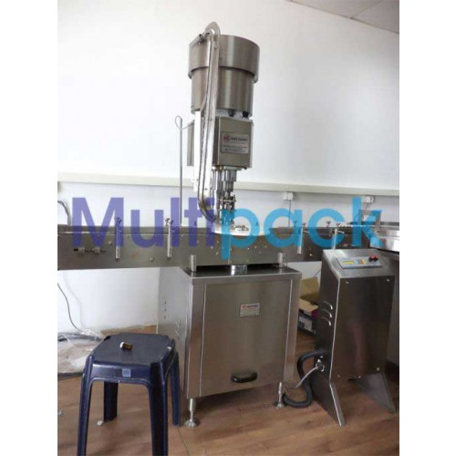 Automatic Single Head Aluminum Vial Cap Sealing Machine