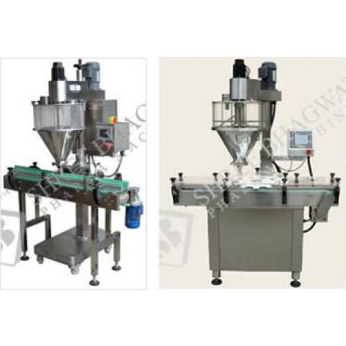 Auger filler , One Head Auger filling machine, Bottle Auger filling line