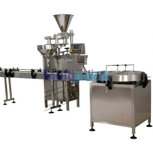 Bottle & Jar Granule Filling Machine , Powder/Granule Cup filler