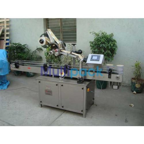 Top labellers,  Label Dispensing Machine