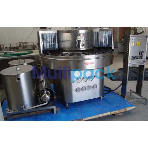 Rotary Bottle Washing Machine - Glass Bottle washer