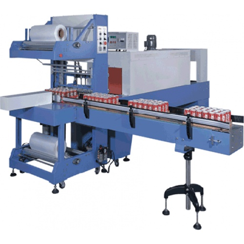 Shrink Wrapping Machine for Bottle, Tin & Jars
